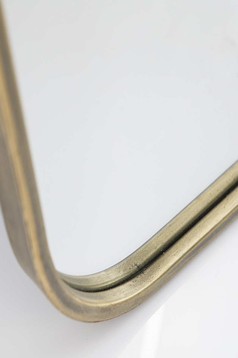Gold Wall Mirror | By-Boo Mr. Vain | dutchfurniture.com
