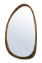 Natural Wood Oval Accent Mirror | By-Boo Plectro | dutchfurniture.com
