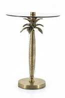 Gold Palm Tree End Table | By-Boo Ovide | dutchfurniture.com