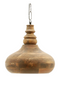 Brown Wood Pendant Light | By-Boo Nomad | DutchFurniture.com