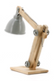 Gray Pulley System Table Lamps (2) | By-Boo DaVinci | DutchFurniture.com