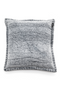 Square Gray Cotton Throw Pillows (2) | By Boo Crush | DutchFurniture.com