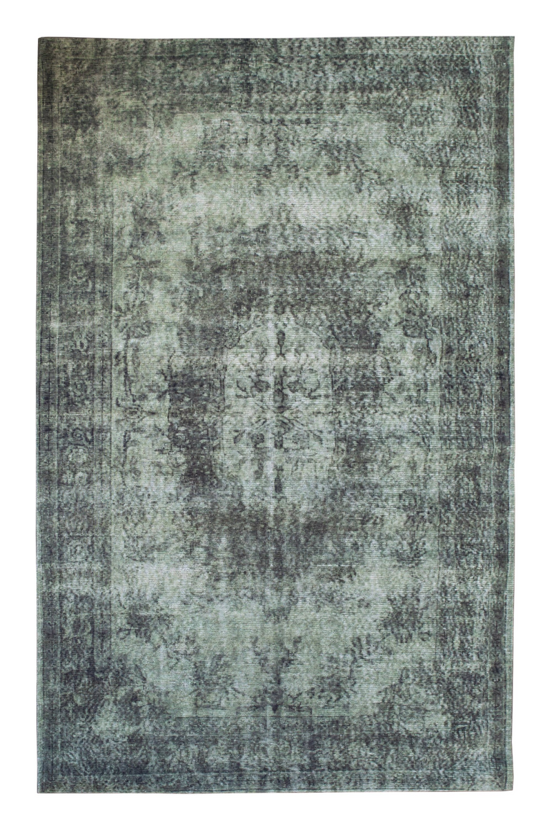Green Oriental Area Rug 5' x 7′5″ | By-Boo Fiore | DutchFurniture.com