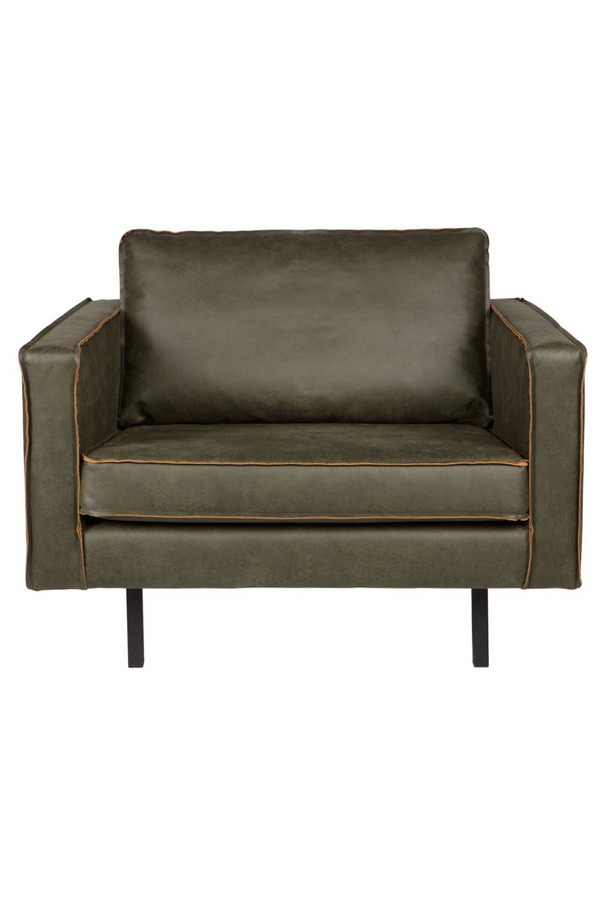 Army Leather Armchair | BePureHome Rodeo | DutchFurniture.com