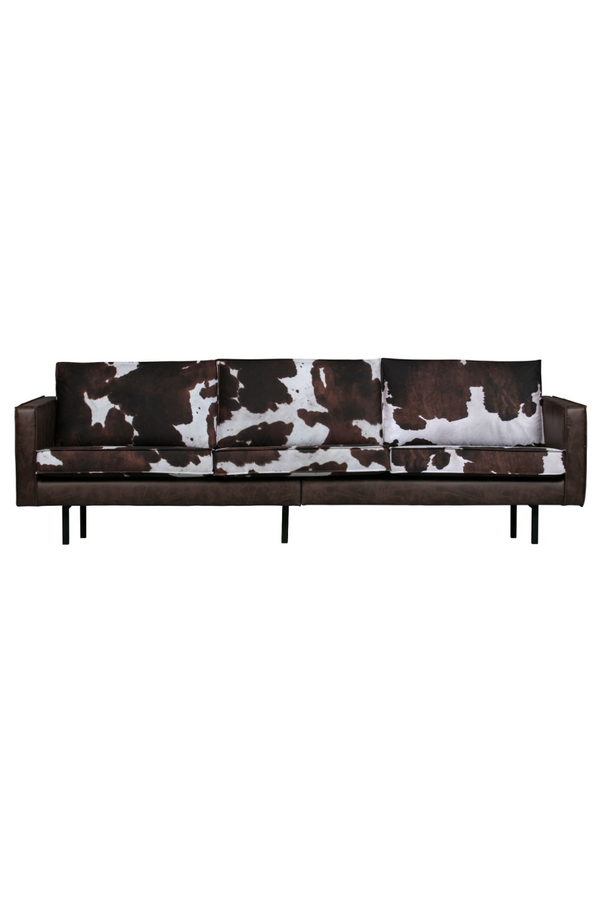 Cow Leather 3 Seater Sofa | BePureHome Rodeo | DutchFurniture.com
