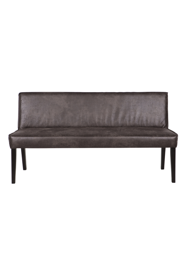 Cognac Leather Dining Bench | BePureHome Rodeo | DutchFurniture.com