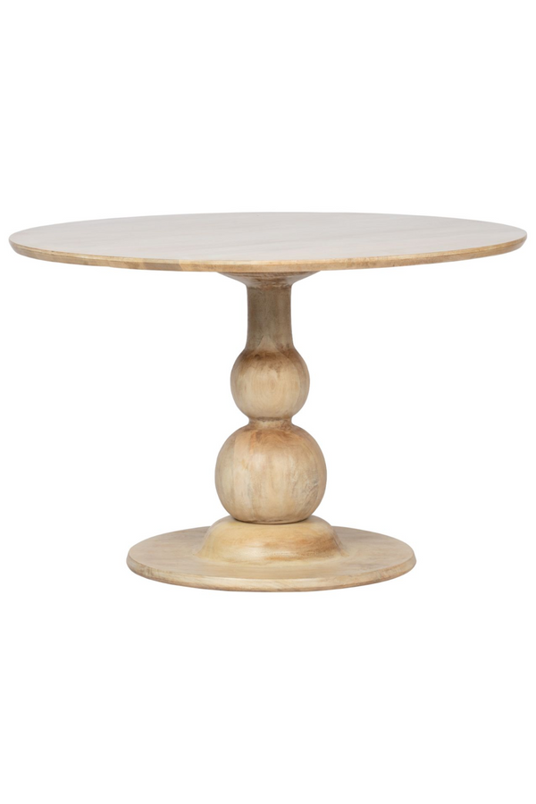 Natural Mango Wood Dining Table | BePureHome Blanco | DutchFurniture.com