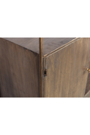 Antique Brass Wine Cabinet | BePureHome Chief | DutchFurniture.com
