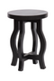Black Wooden Plant Tables (2) | BePureHome Camber | DutchFurniture.com