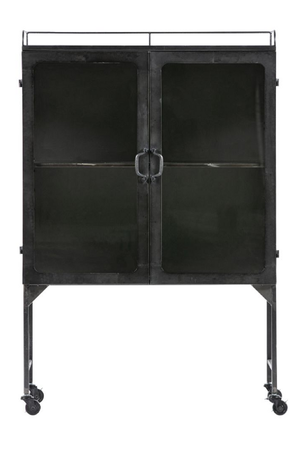 Antique Gray Metal Cabinet | BePureHome Talent | DutchFurniture.com