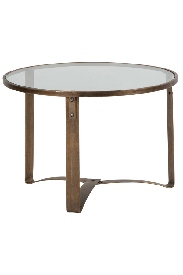 Antique Brass End Table | BePureHome | DutchFurniture.com