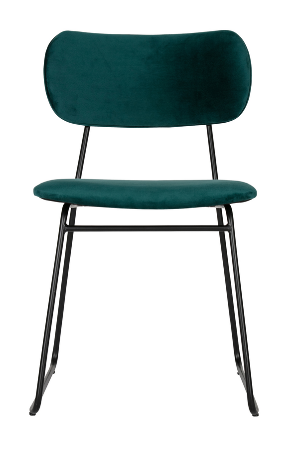 Petrol Modern Dining Chairs (2) | BePureHome Wimple | DutchFurniture.com