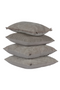 Beige Velvet Throw Pillows (2) | BePureHome Stroke | DutchFurniture.com