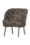 Aquarel Flower Velvet Accent Chair | BePureHome Vogue | Dutchfurniture.com