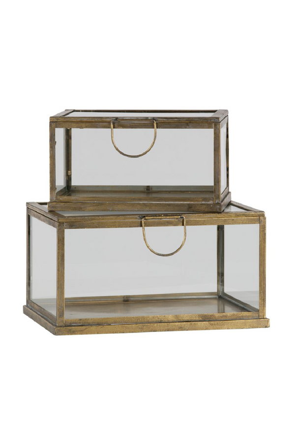 Glass Display / Storage Box Set | BePureHome Fortune | DutchFurniture.com