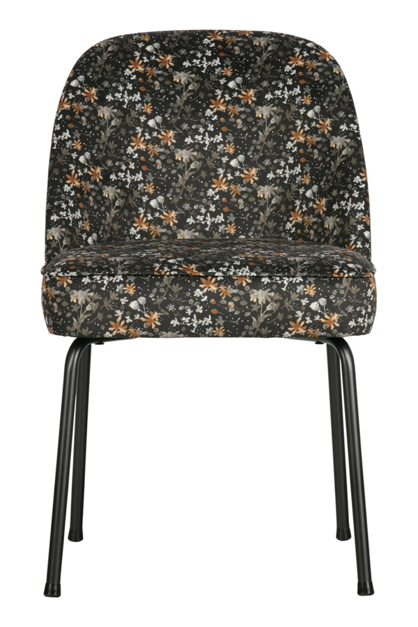 Aquarel Flower Velvet Dining Chairs (2) | BePureHome Vogue | Dutchfurniture.com