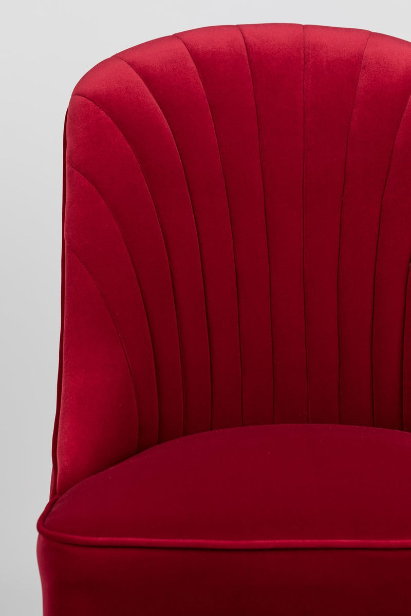 Red Velvet Dining Chairs (2) | Bold Monkey Give Me More | DutchFurniture.com