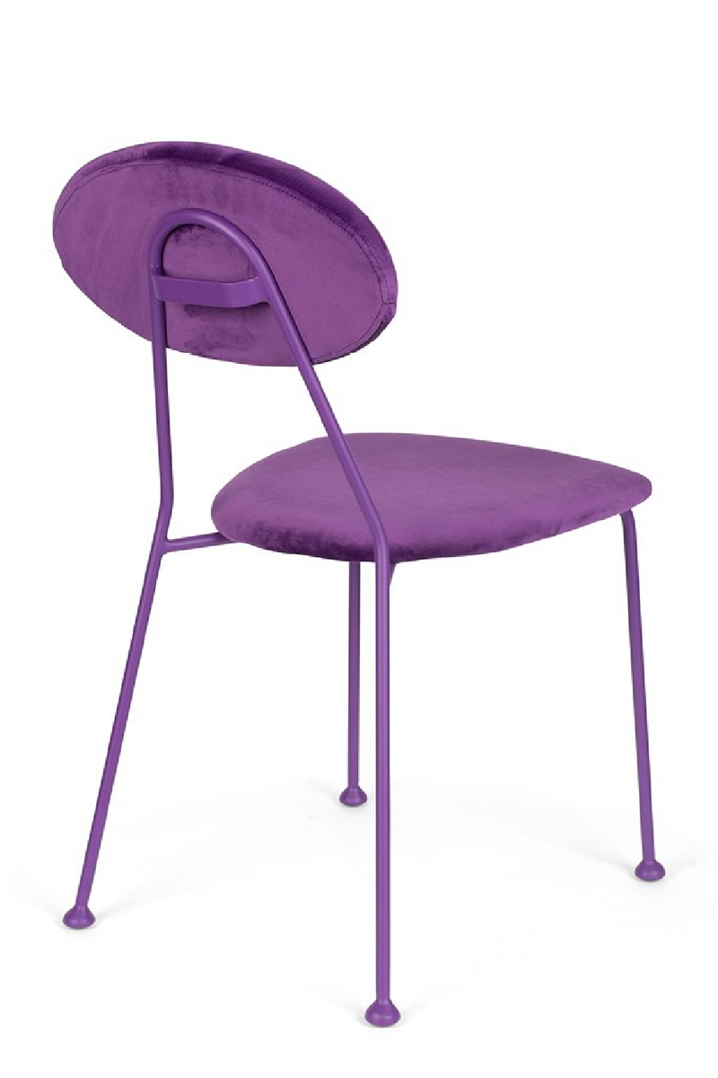Purple Velvet Dining Chairs (2) | Bold Monkey Kiss The Froggy | DutchFurniture.com