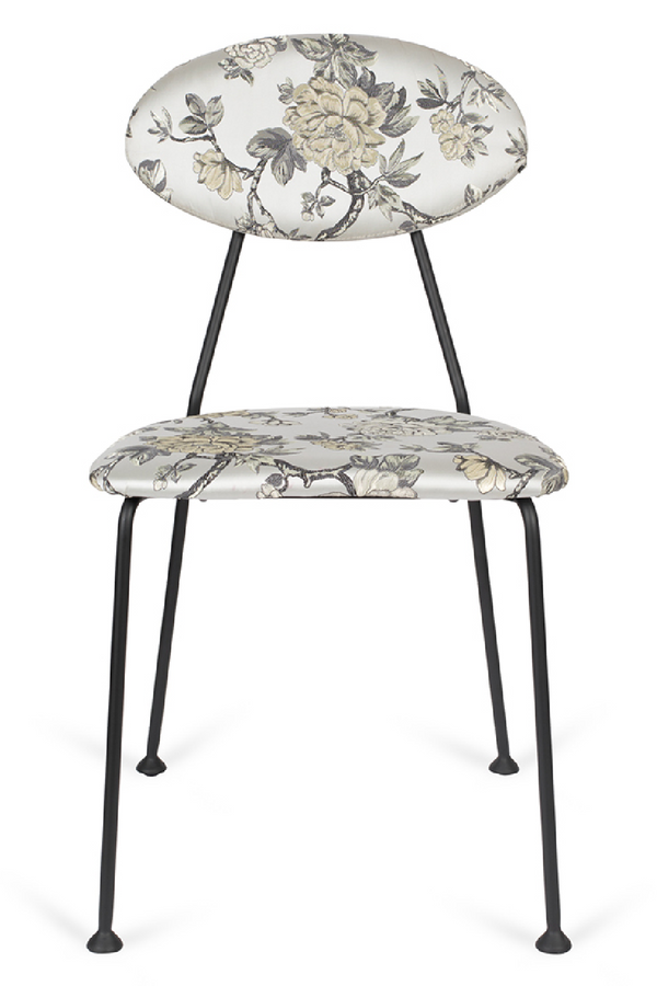 Flower Pattern Dining Chairs (2) | Bold Monkey Kiss The Froggy | DutchFurniture.com