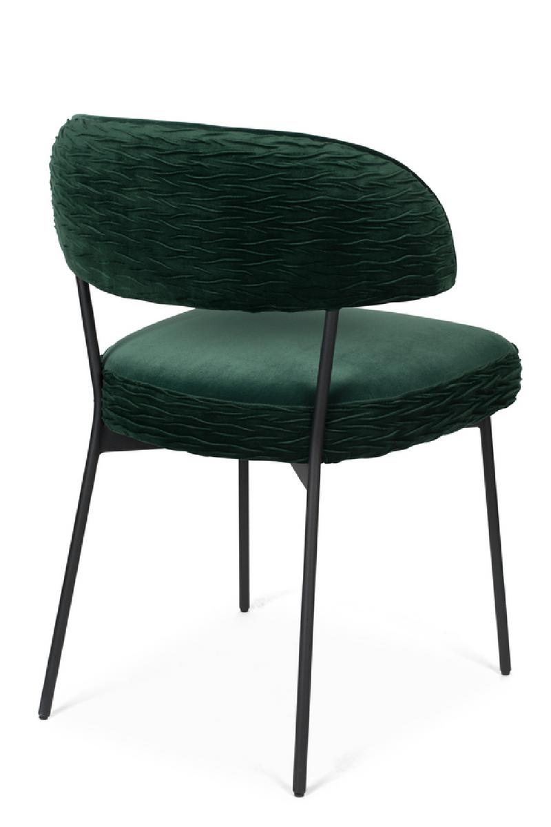 Green Velvet Dining Chairs (2) | Bold Monkey The Winner | DutchFurniture.com
