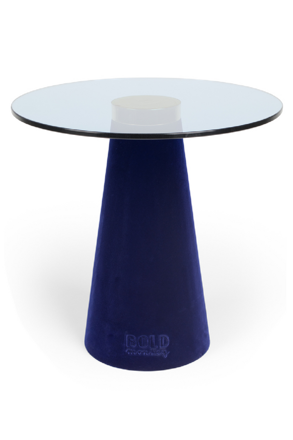 Blue Tower Side Table | Bold Monkey Leader of the Fanclub | DutchFurniture.com