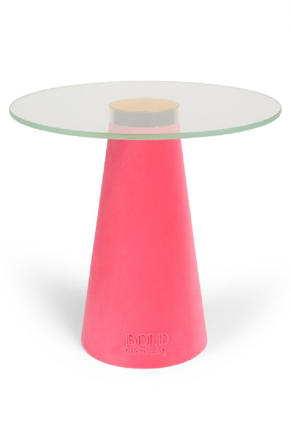 Pink Tower Side Table | Bold Monkey Leader of the Fanclub | DutchFurniture.com