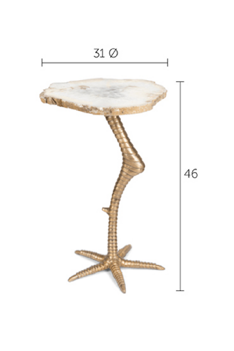 Bird Leg Side Table | Bold Monkey Beauty And The Bird | DutchFurniture.com