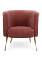 Pink Tufted Barrel Chair | Bold Monkey Such A Stud | DutchFurniture.com