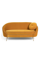 Ochre Velvet Sofa | Bold Monkey Don't Love Me | DutchFurniture.com