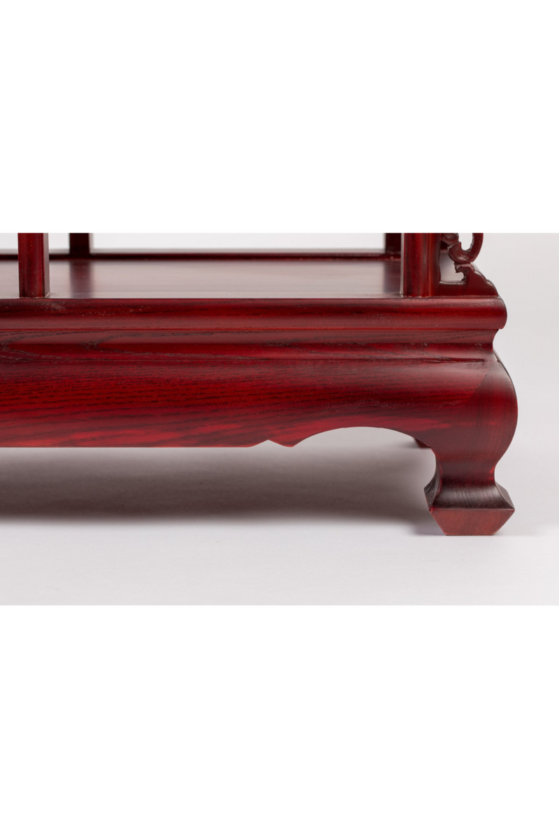 Oriental Red Cabinet | Bold Monkey It's Tea Time in China | DutchFurniture.com