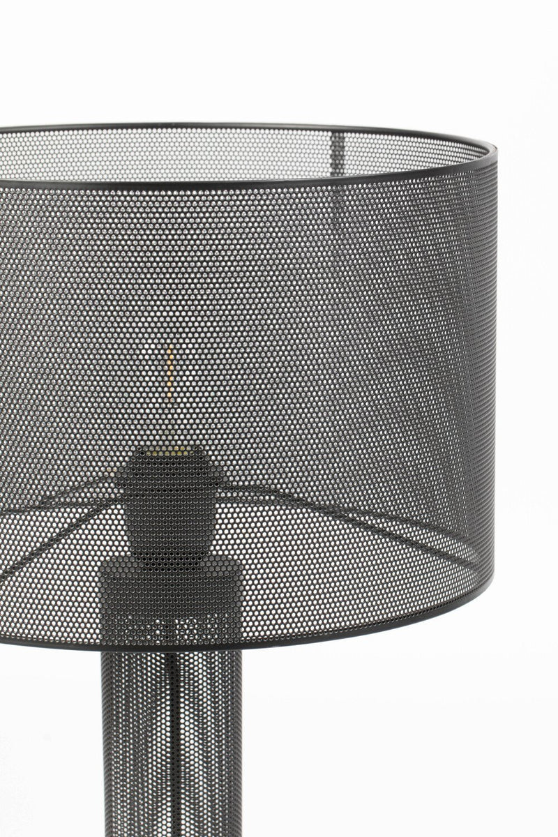 Black Mesh Table Lamp | Bold Monkey Sweet Mesh | DutchFurniture.com
