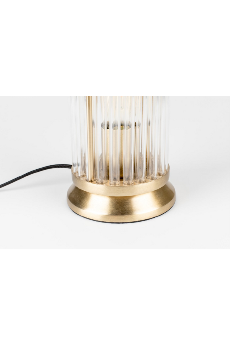 Brass Table Lamp | Bold Monkey Angel on Fire | DutchFurniture.com