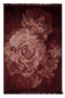 "Floral Area Rug 6'5"" X 10' 