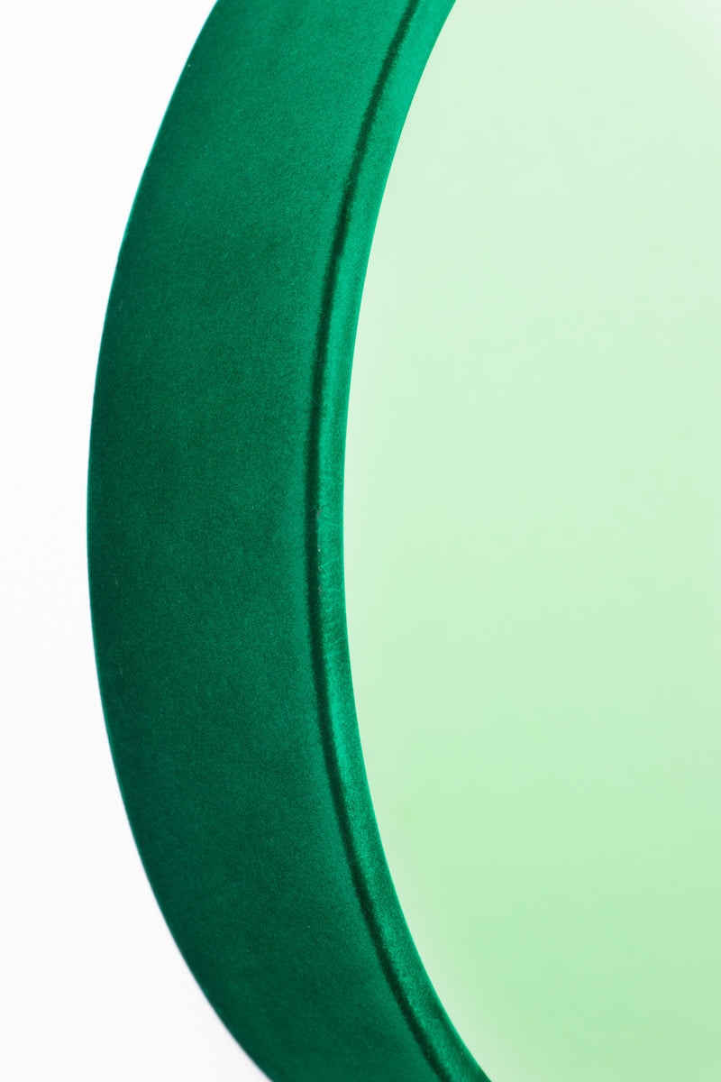 Green Round Mirror M | Bold Monkey You're So Ugly | DutchFurniture.com