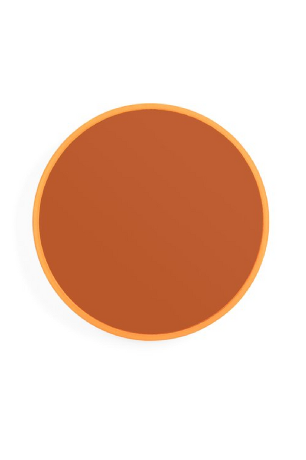 Orange Round Mirror S | Bold Monkey You're So Ugly | DutchFurniture.com