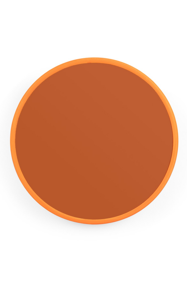 Orange Round Mirror M | Bold Monkey You're So Ugly | DutchFurniture.com