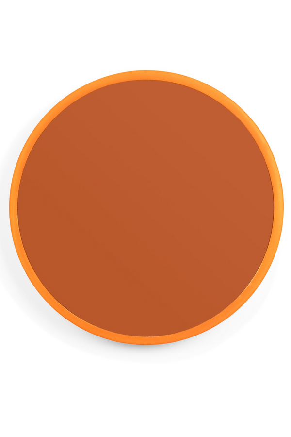 Orange Round Mirror L | Bold Monkey You're So Ugly | DutchFurniture.com