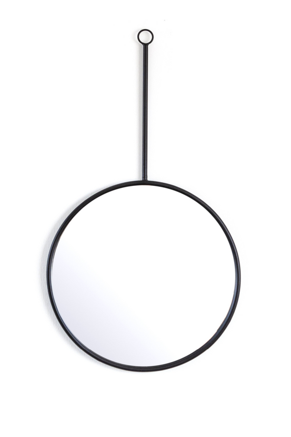 Black Pendulum Hanging Mirrors S (2) | By-Boo Womack | DutchFurniture.com