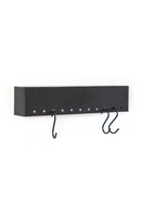 Wall Mounted Wall Ledge With Hooks (S) | By Boo Captain | DutchFurniture.com