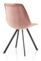 Blush Velvet Dining Chairs (2) | By-Boo Belle | DutchFurniture.com