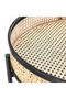Round Rattan Coffee Table (L) | By-Boo Chariot | DutchFurniture.com