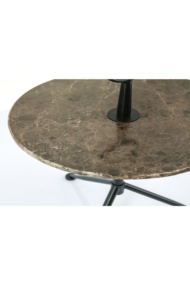 Rounded Marble Accent Table | By-Boo Dober | DutchFurniture.com