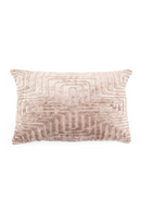 Rectangular Blush Viscose Throw Pillows (2) | By-Boo Madam | DutchFurniture.com