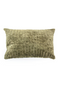 Rectangular Green Viscose Throw Pillows (2) | By-Boo Madam | DutchFurniture.com