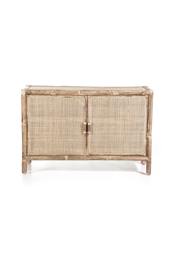 Natural Rattan Two Door Dresser | By-Boo Metz | DutchFurniture.com