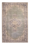 Green Vintage Floral Area Rug 5' x 7′5″ | By-Boo Blush | DutchFurniture.com