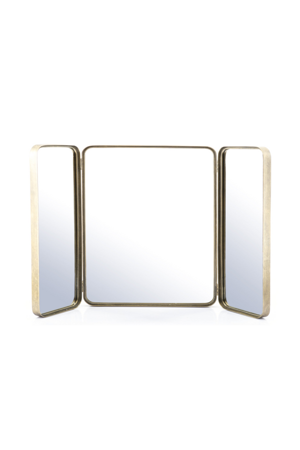 Gold Bathroom Vanity Mirror | By-Boo Charming | DutchFurniture.com