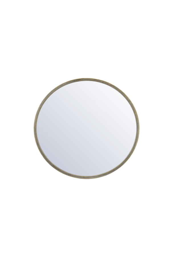 Gold Round Accent Mirror S | By-Boo Selfie | DutchFurniture.com