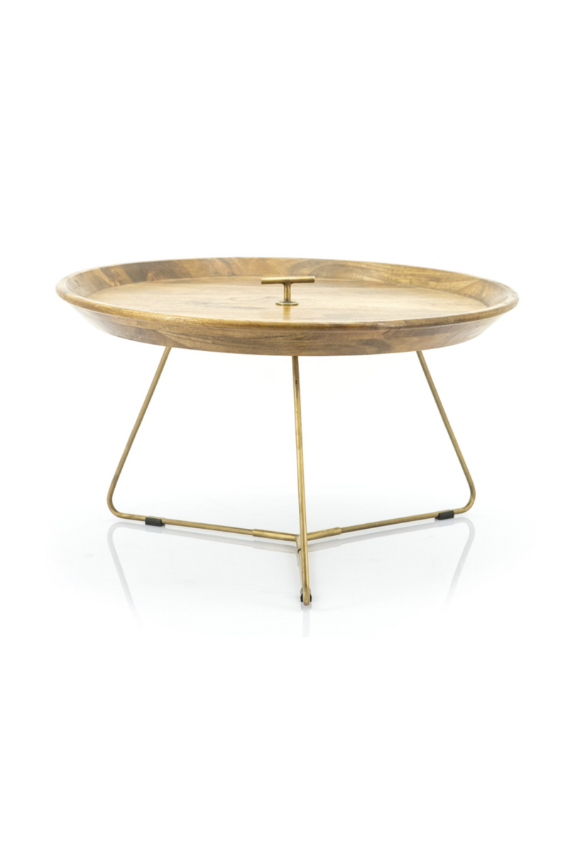 Gold Tray Top End Table L | By-Boo Medja | DutchFurniture.com