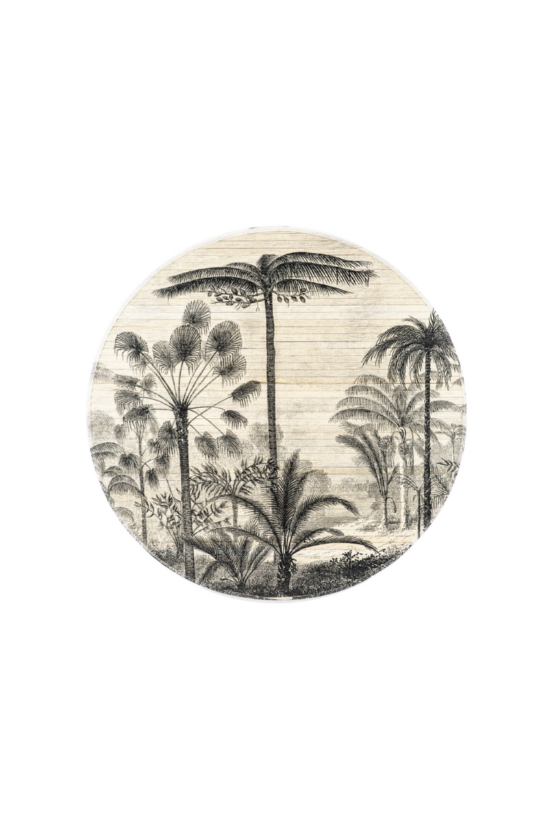 Round Bamboo Wall Art S | By-Boo Morita Forest | DutchFurniture.com